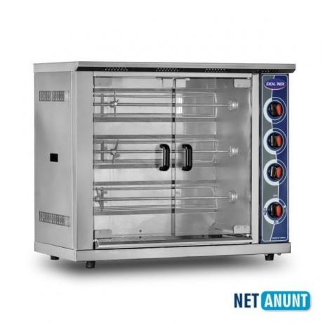 rotisor-profesional-electric-ideal-inox-capacitate-15-pui-geam-fata-si-spate-rezistent-la-caldura-big-0