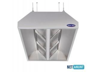 Hota inox centrala cu filtru, IDEAL INOX, 6000*1800*500