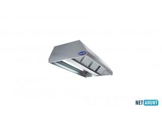 Hota inox centrala cu filtru si lumina, Ideal Inox, 6000*1800*500