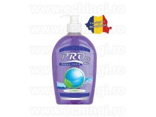 Sapun cu pompa PRO2 mov 500 ml