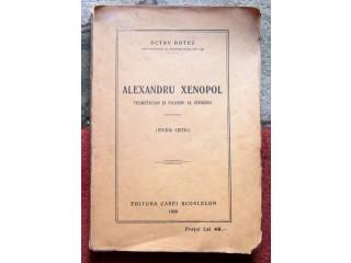 Alexandru Xenopol, Octav Botez