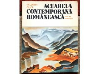 Acuarela contemporana romaneasca, Valentin Ciuca, 1988