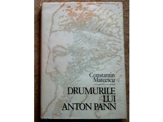Drumurile lui Anton Pann, Constantin Mateescu