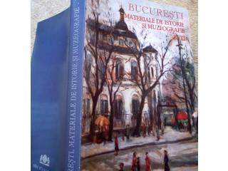 Bucuresti, materiale de istorie si muzeografie, 2004