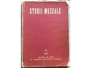Studii muzeale, 1966